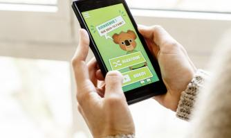 Ben le koala, une application mobile